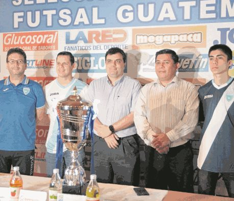 Recientemente se ofreció una conferencia de prensa en la que se anunció la Copa Guatemala. (Foto Prensa Libre: Hemeroteca PL).