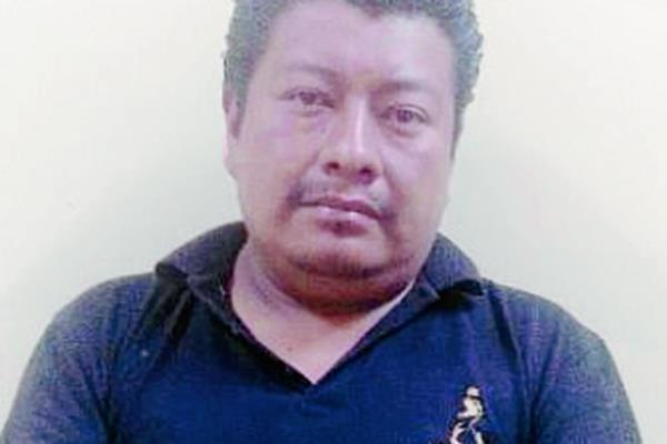 La captura fue ejecutada en la zona 6 capitalina, es acusado de al menos cuatro violaciones. (Foto Prensa Libre: MP)