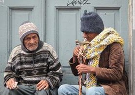 El viento que se espera el fin de semana hará que las personas sientan más frío. (Foto Prensa Libre: Hemeroteca PL)