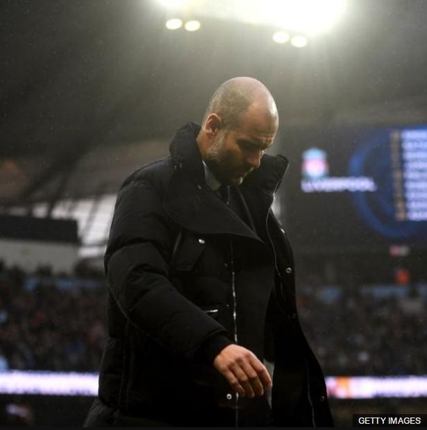 El técnico catalán ha sido criticado por la irregular campaña del City.