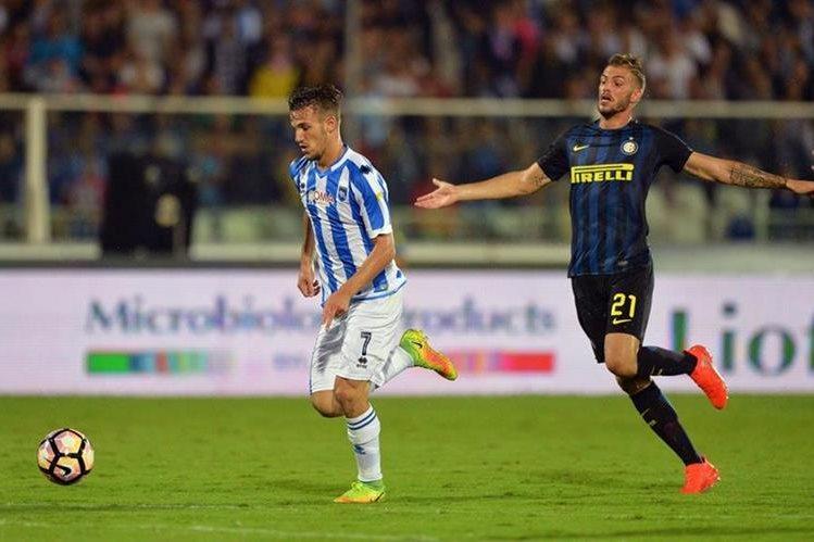 El Inter no había ganado desde el inicio del torneo italiano. (Foto Prensa Libre: AFP)