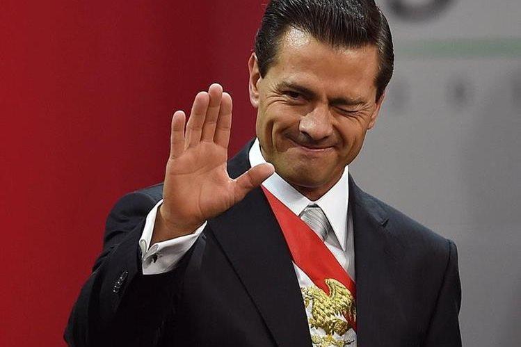Enrique Peña Nieto, presidente de México. (Foto Hemeroteca PL).
