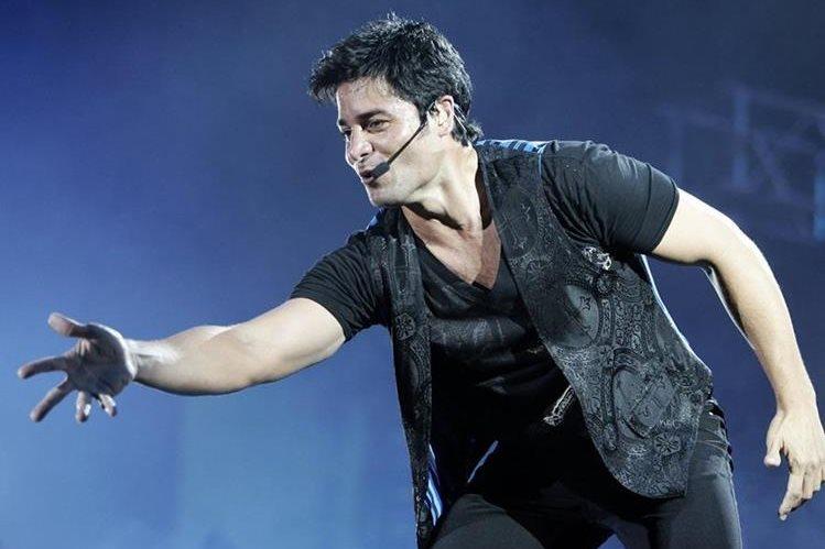 El cantante puertorriqueño Chayanne formará parte del Paseo de la Fama de su país. (Foto Prensa Libre: EFE)