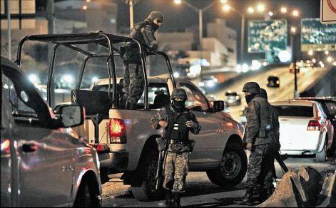 (Imagen de referencia). México enfrenta una ola de violencia por el narcotráfico. (Foto Prensa Libre: Hemeroteca PL).