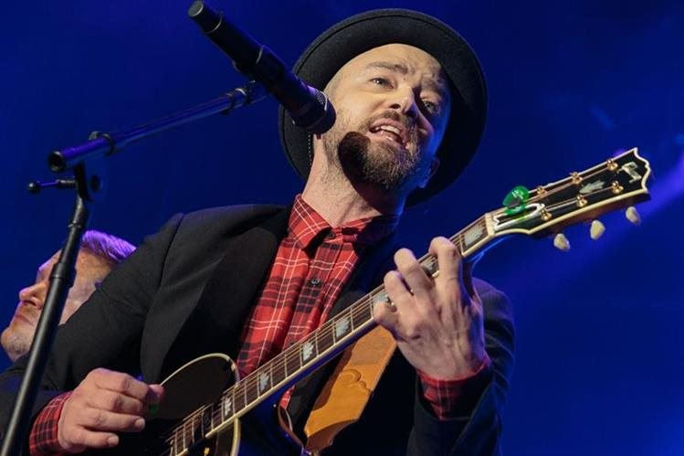 Justin Timberlake volverá a protagonizar el espectáculo de medio tiempo del Super Bowl, 14 años después de su última presentación (Foto Prensa Libre: AFP).