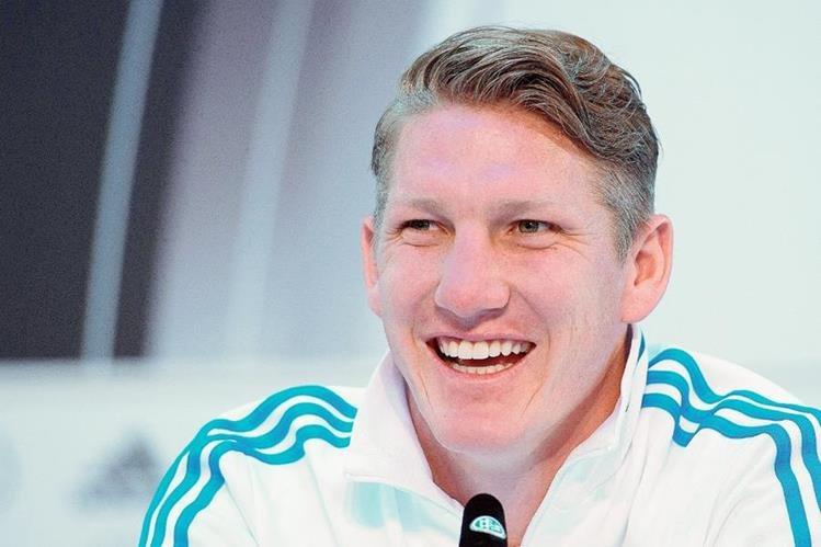 Bastian Schweinsteiger, la nueva sensación del Manchester United. (Foto Prensa Libre: EFE)