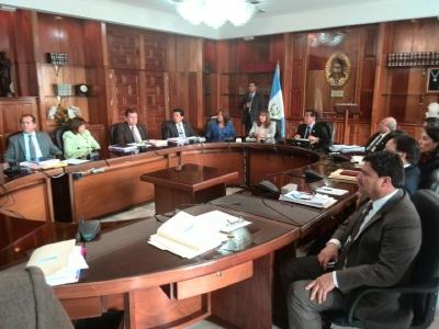 Los magistrados de la CSJ, resolvieron en pleno, dar trámite a los antejuicios. (Foto Prensa Libre: Hemeroteca PL)