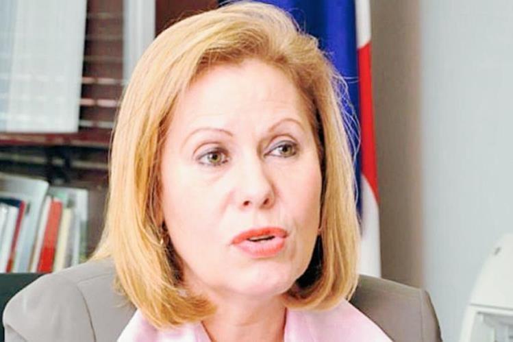 Giselle Burillo, exministra en el gobierno del expresidente Ricardo Martinelli. (Foto: panamaamerica.com.pa).