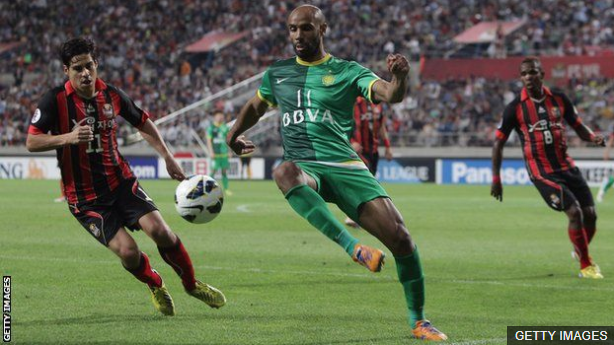 Kanoute jugó en China hace seis años. (Foto Prensa Libre: BBC Mundo)