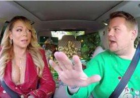 Mariah Carey acompañó a James Corden en su viaje navideño. (Foto Prensa Libre: Hemeroteca PL)