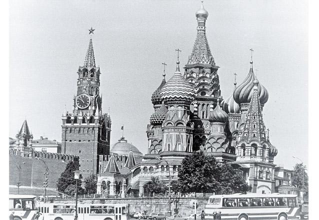 Vista del Kremlin, símbolo del poder soviético. (Foto: Hemeroteca PL)