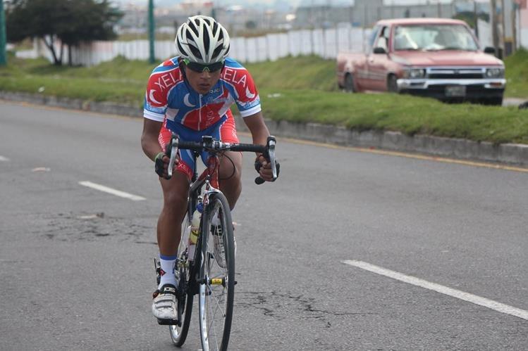 El Quetzalteco Dimas Vail fue el mejor de la jornada que tuvo como escenario Quetzaltenango. (Foto Prensa Libre: Cortesía FNC)