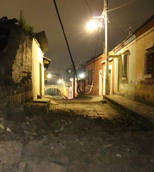Siete municipios podrían quedar sin alumbrado público debido a la deuda.(Prensa Libre: Hemeroteca PL)