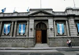 El Sinecor es el cuarto sindicato de trabajadores del Congreso de Guatemala. (Foto HemerotecaPL)