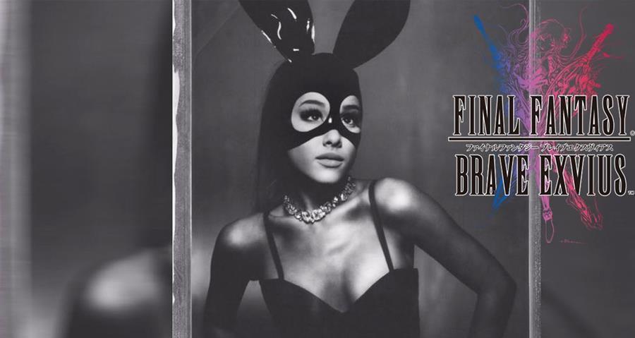 Ariana Grande será personaje en Final Fantasy para móvil. Foto Prensa Libre: HemerotecaPL