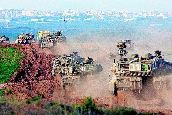 <p>El material de construcción que ingresa por la franja de Gaza está destinado a proyectos de gobiernos extranjeros.</p>