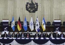 Inauguración del Observatorio Judicial del Sistema de Justicia Penal de Guatemala. (Foto Prensa Libre: Carlos Hernández)