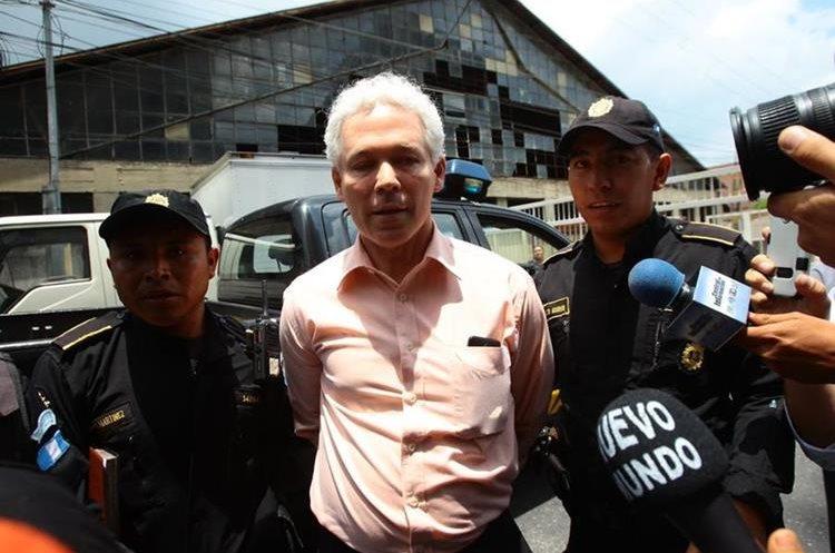 El ex viceministro fue destituido el 3 de mayo último por el presidente Jimmy Morales.