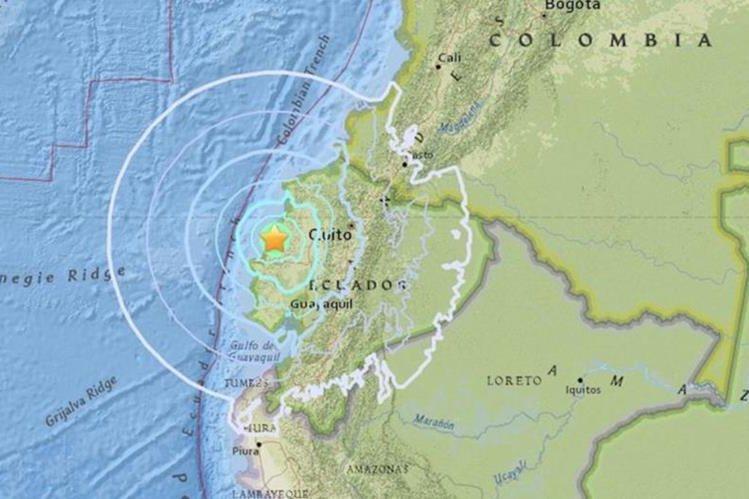 Fuerte temblor vuelve a sacudir al Ecuador
