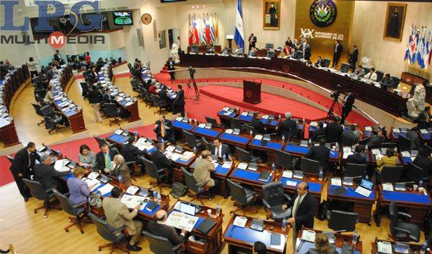 Con 44 votos a favor y 34 en contra la Asamblea Legislativa de El Salvador aprobó el nuevo paquete de impuestos. (Foto: La Prensa Gráfica).