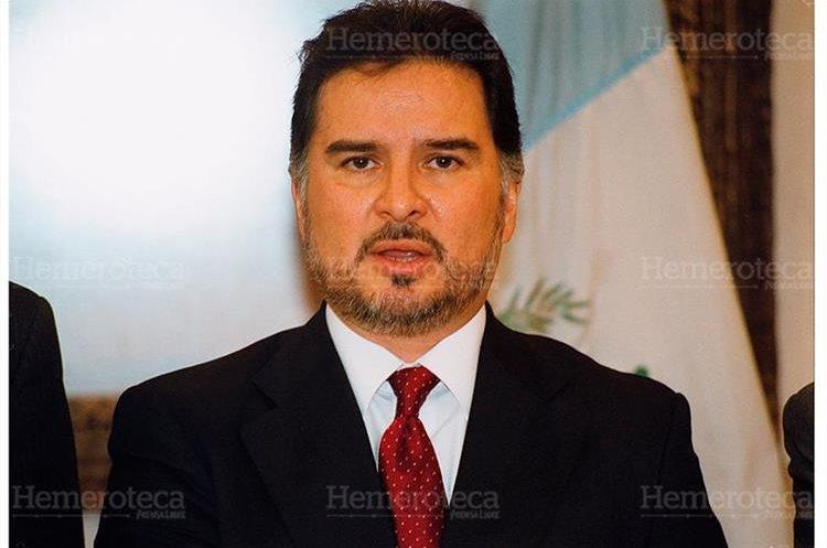 Alfonso Portillo, presidente de Guatemala en 2003. (Foto: Hemeroteca PL)