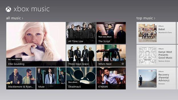 XBox Music fue no de los cuatro intentos de Microsoft por hacerse un hueco en el terreno musical. (MICROSOFT)