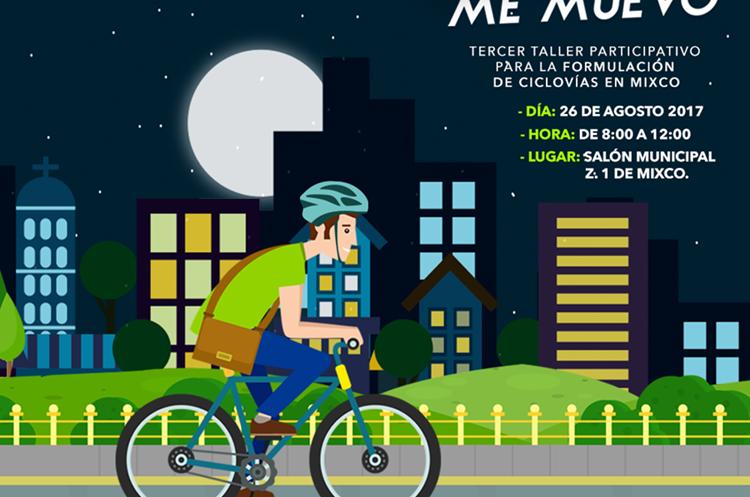 Invitación que hace la Municipalidad de Mixco para el taller de este sábado. (Foto Prensa Libre: Cortesía)