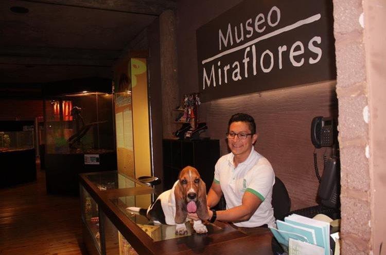 Museo Miraflores, otro de los lugares que aceptan el ingreso de mascotas. (Foto Prensa Libre: cortesía)