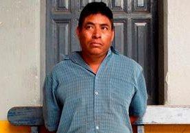 <p>Diego Maldonado Yat fue capturado por haber secuestrado al síndico segundo de Cunén, en Quiché. (Foto Prensa Libre: Oscar Figueroa)<br></p>