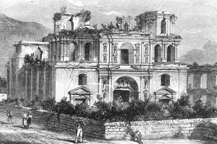 Imagen de alrededor de 1839, autoría de Frederick Catherwood. (Colección Manuel Rubio Sánchez)