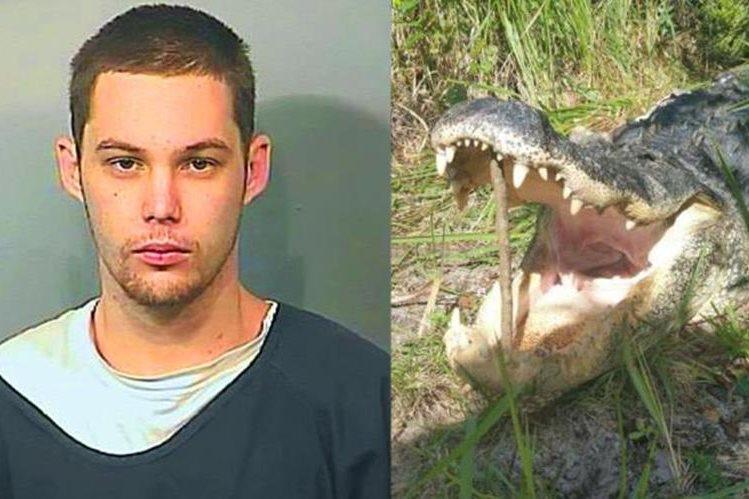 Matthew Riggins fue devorado por un caimán en Florida.