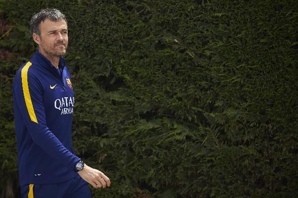 El técnico del Barcelona, Luis Enrique espera triunfar frente al Betis. (Foto Prensa Libre: EFE)