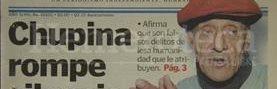 Titular de Prensa Libre del 12 de agosto de 1999. (Foto: Hemeroteca PL)