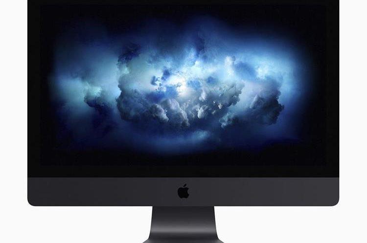 La nuevo iMac Pro, presentada en la conferencia de desarrolladores.