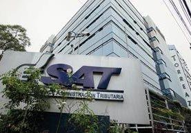 Oficinas centrales de la SAT en la zona 9. (Foto Prensa Libre: Hemeroteca PL)