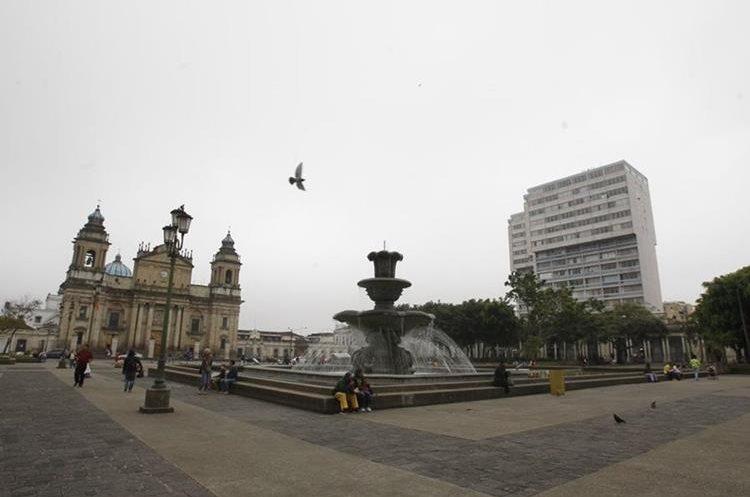 Así luce la Plaza de la Constitución.