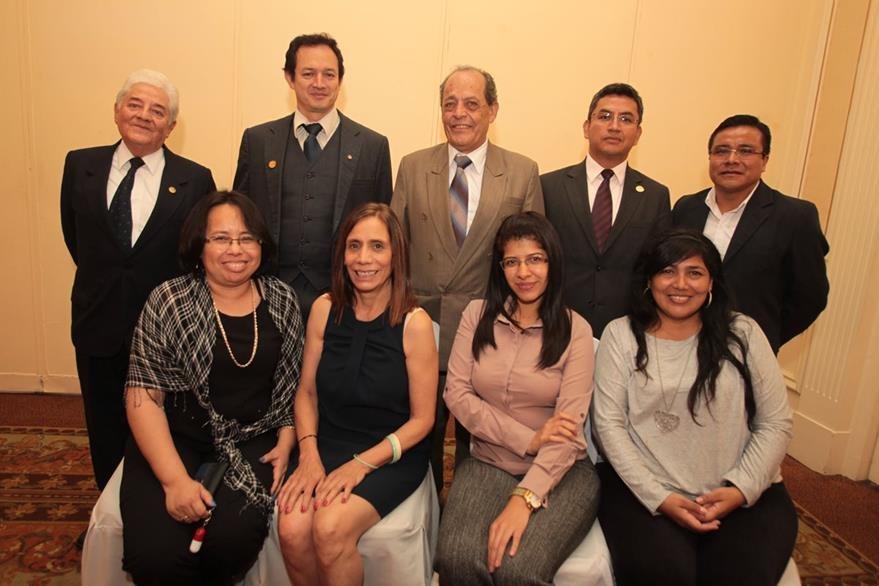 Comité organizador de la Olimpiada Nacional de Ciencias, 2015.  (Foto Prensa Libre: Edwin Castro)