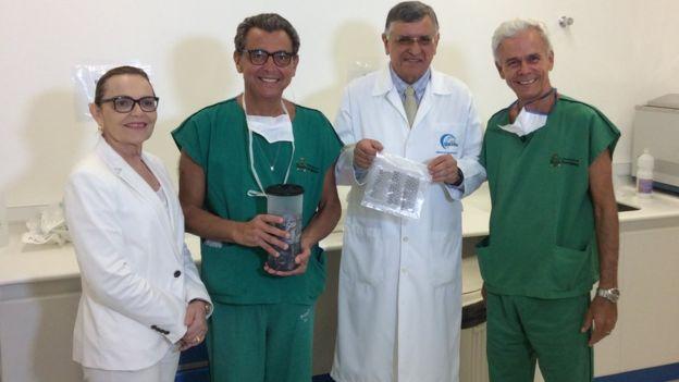 El trabajo de los investigadores fue premiado dos veces en Brasil. (Foto, IJF)