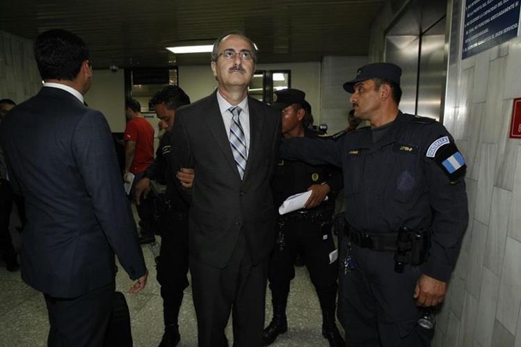 Pedro Muadi fue capturado en octubre de 2015. (Foto Prensa Libre: Archivo)