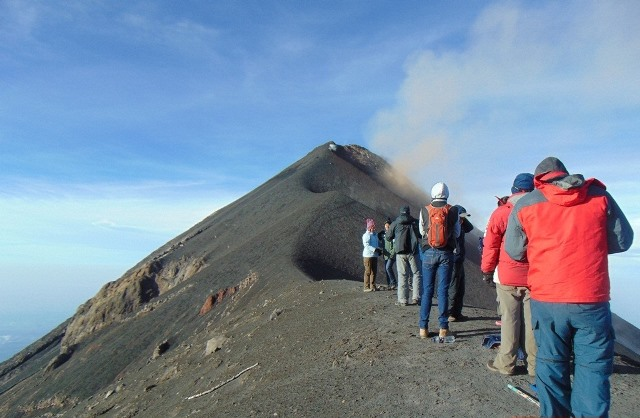 Guatemala sobresale por su riqueza paisajística y natural y por su cadena volcánica. (Foto Prensa Libre: K´ASHEM)