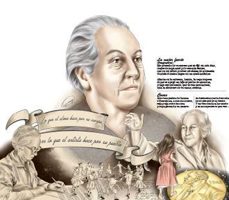 Gabriela Mistral es una de las grandes poetas del siglo XX en Latinoamérica. (Foto Prensa Libre: Esteban Arreola)