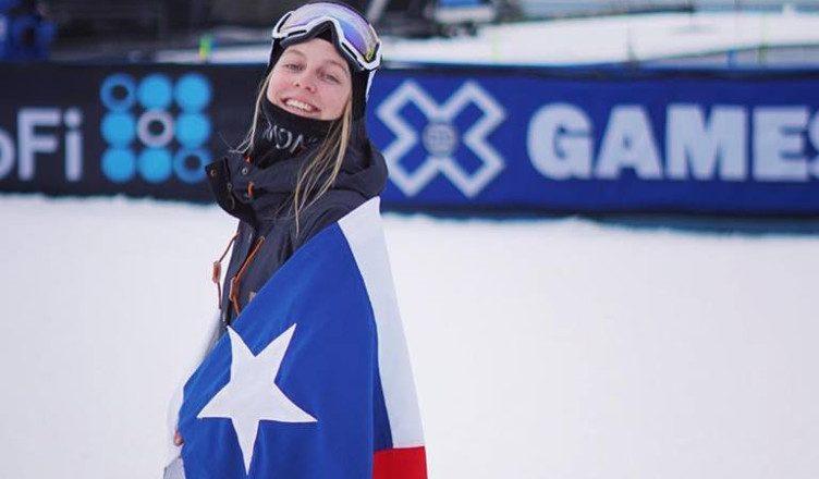 Dominique Ohaco es la principal figura del Chile en los Juegos Olímpicos de Invierno que comenzarán el próximo viernes. (Foto Redes).