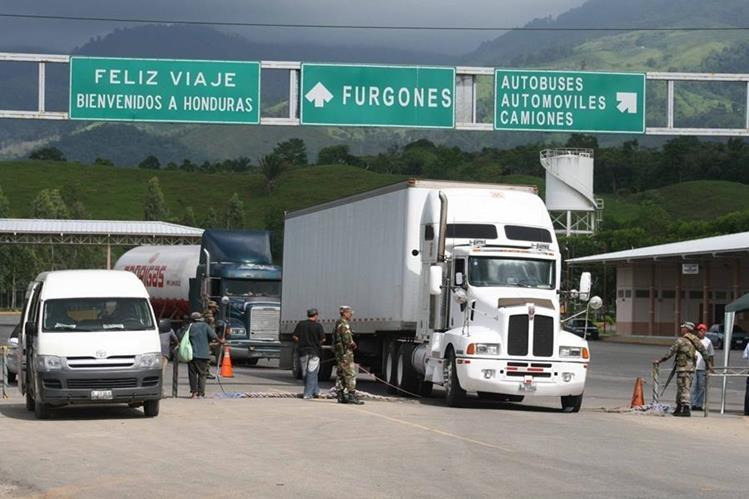 El reglamento de la Unión Aduanera entre Guatemala y Honduras empezará a redactarse la próxima semana. (Foto Prensa Libre: Hemeroteca)