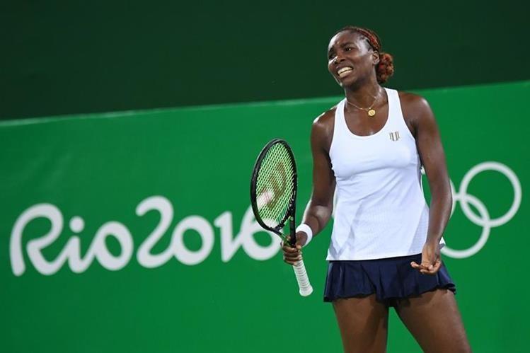 Venus no tuvo una buena participación en los Juegos Olímpicos de Río 2016. (Foto Prensa Libre: AP)