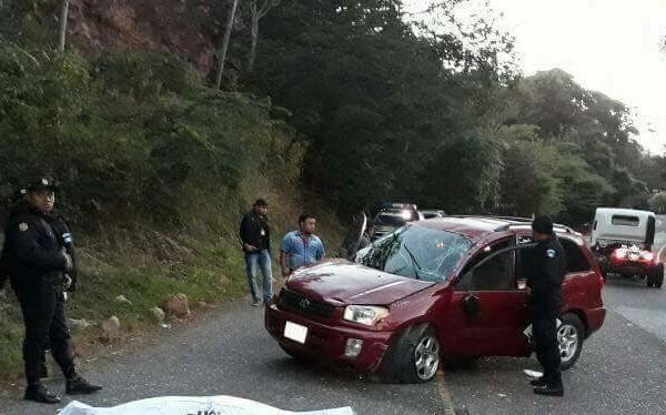 Lugar de la tragedia en Concepción Las Minas, Chiquimula. (Foto Prensa Libre: Mario Morales).