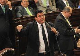 El diputado Estuardo Galdámez es denunciado por agresiones. (Foto Prensa Libre: Hemeroteca PL)