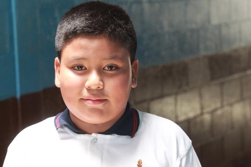 Armando González Morales, de 11 años.