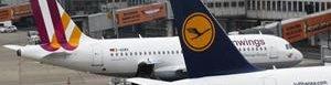 Aviones de Germanwings.