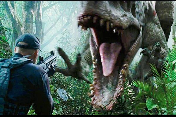 La película Jurassic World llega 14 años después de la última historia de dinosaurios. (Foto Prensa Libre Hemeroteca)