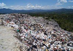 El vertedero municipal que se utiliza quedará en desuso. (Foto Prensa Libre: Mario Morales)